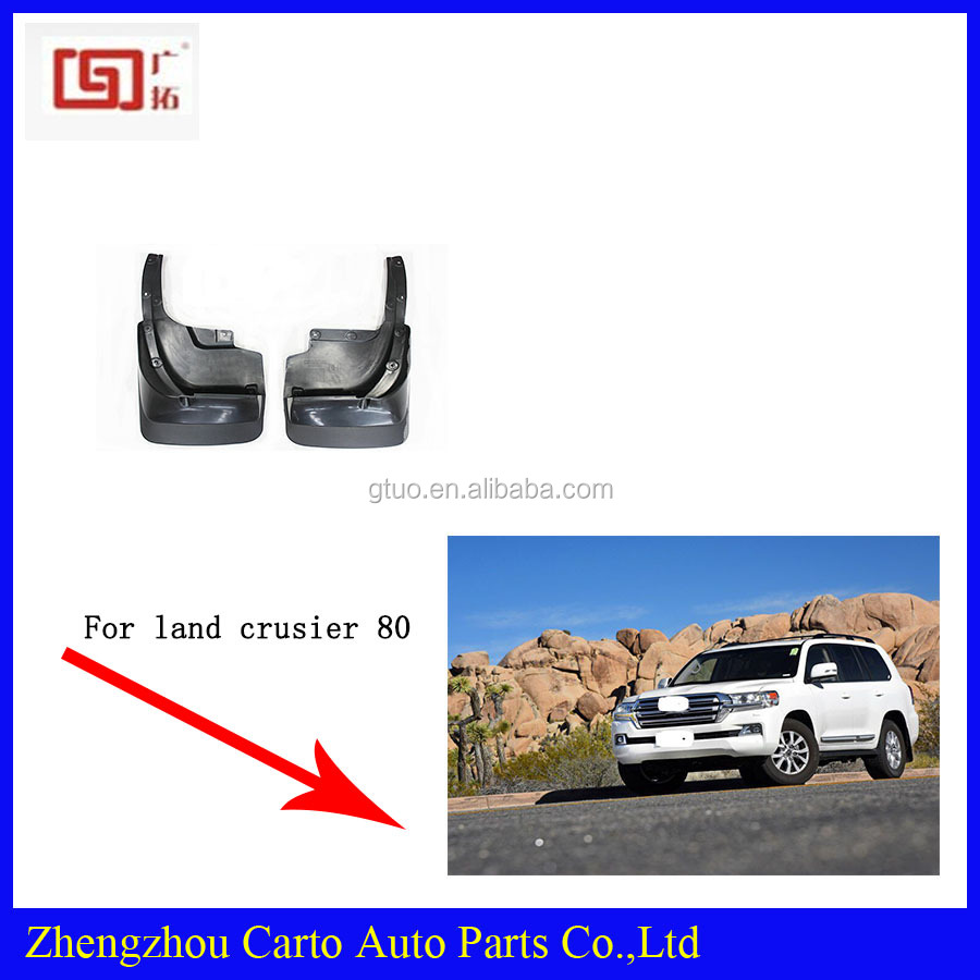 Car body parts for Toyota Land Cruiser 70 fender flares