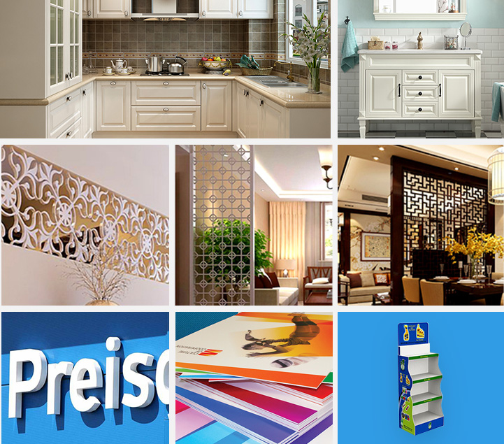 4X8 Waterproof White Expanded Plastic Forex PVC Sheet For Kitchen Cabinet Furniture Price