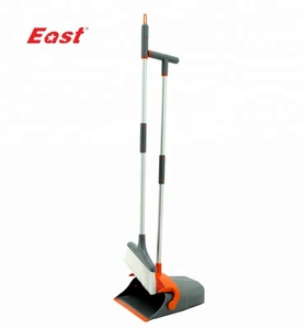 Ningbo EAST Windproof Household Cleaning Tool Plastic Broom And Dustpan Set