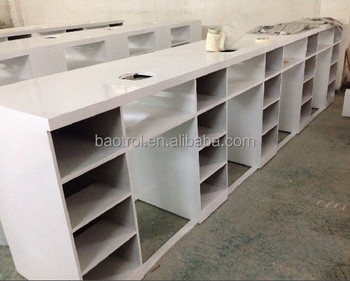 Nail Bar Furniture Making Machine Table Mesa De Manicure