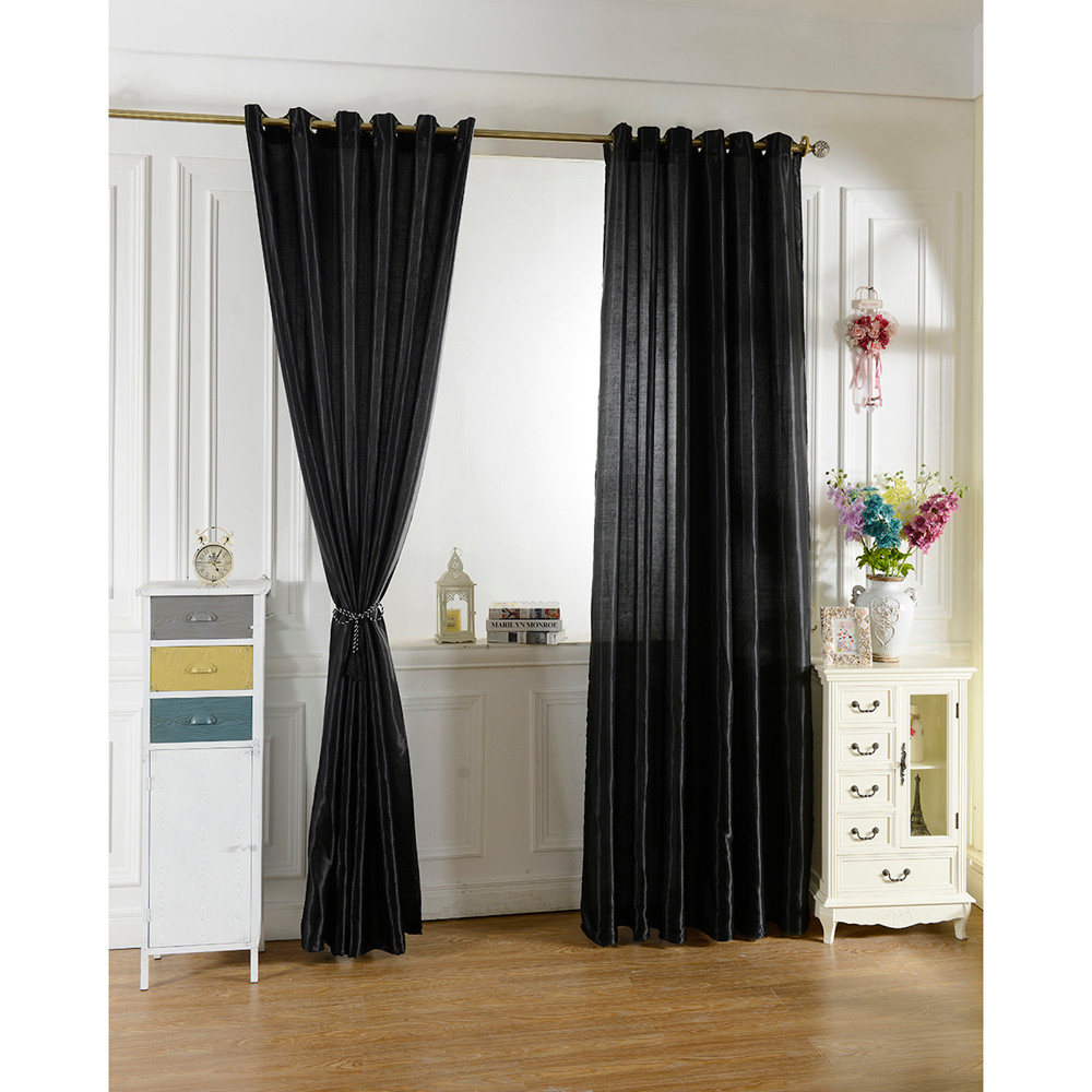 2019 New 100250 Black Curtain Window Curtains For Kids Boys Girls