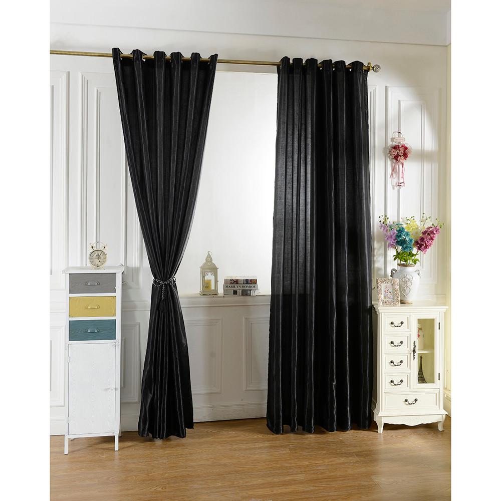 2021 New 100*250 Black Curtain Window Curtains For Kids Boys Girls Room Living Room Elegent Bule ...