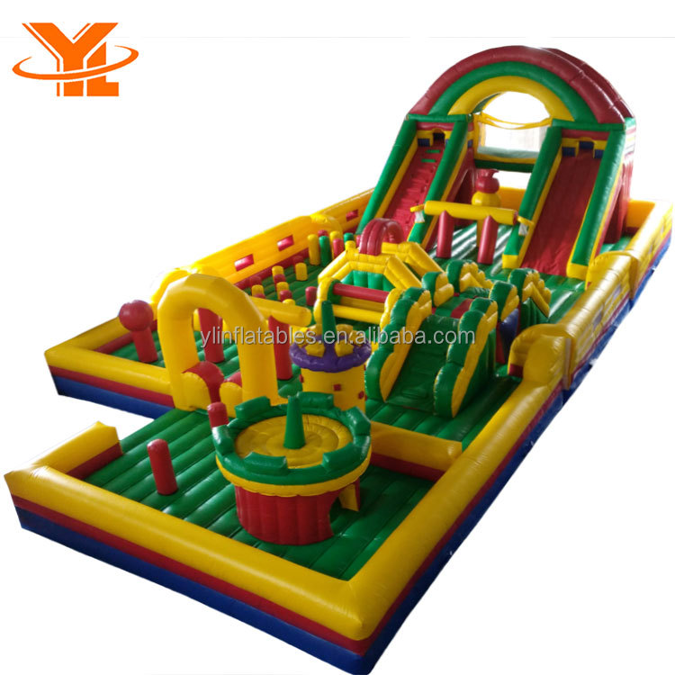 YL Bouncing Amusement Water Park Combo Inflatable Fun City