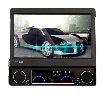 2015 Newest Hot 7Inch 1DIN Car DVD Player Stereo GPS Navigation SD USB MP3/4 Radio DK7091