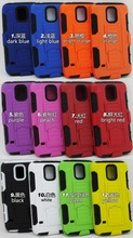 Robot combo case 3 in 1 assemble antiproof in stock mobile phone case for iphone 6 plus