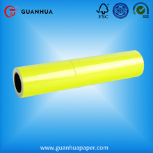Wholesale cheap price blank PET adhesive price label tag rolls