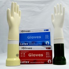 Medical disposable best supplies latex coated/dipped glove cheap latex gloves manufacturer