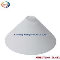 Cone Glass Pool Table Light Shade for living room