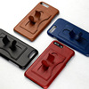 Fashionable flip mobile phone case with detachable pc case For iphone