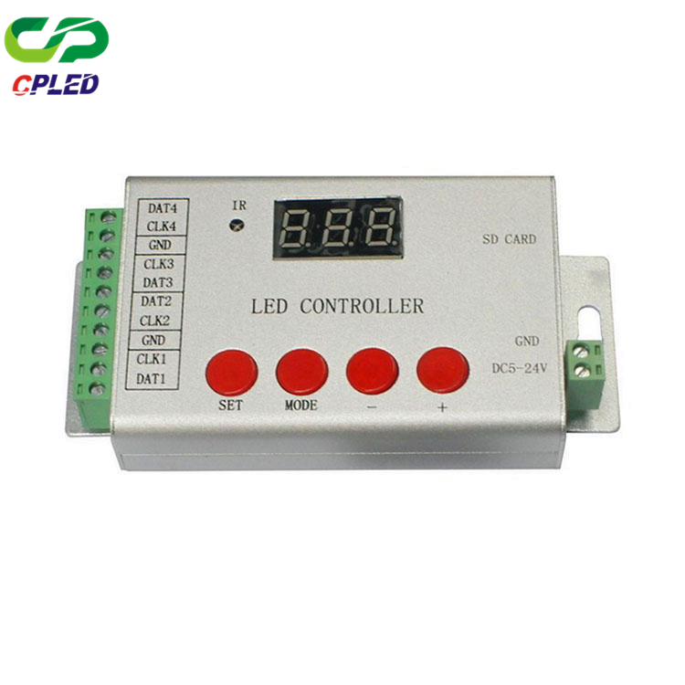 CP-H802SE IR SD card controller Four Port LED Wireless Remote Control DMX512 Controller