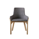 wooden leisure coffee shop hotel restaurant fabric dining chair