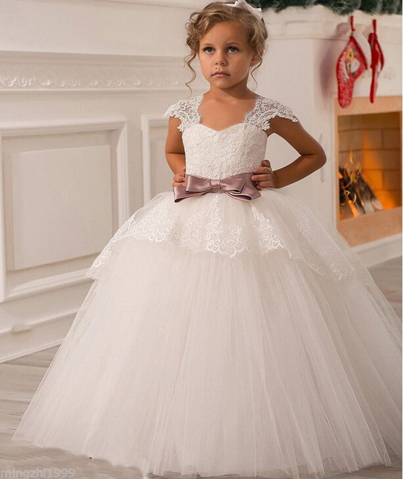 Gown For Flower Girl Wedding: Aliexpress.com : Buy 2015 NEW Wedding Party Formal Flower