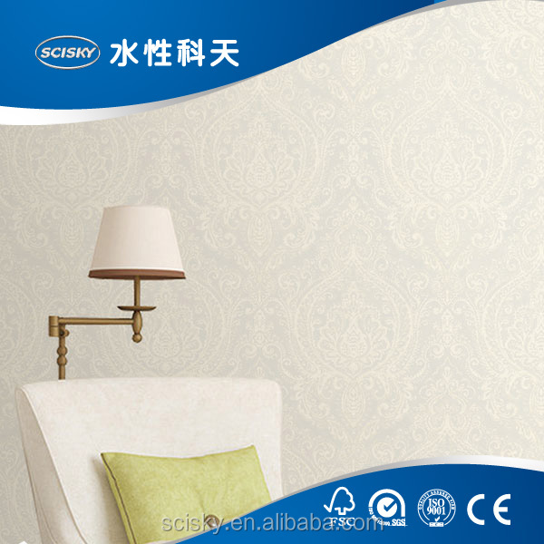 Yao Ming Approved SCISKY Wallpaper Factory Wholesale Prices of Wallpapers with Simple Embossing Pattern