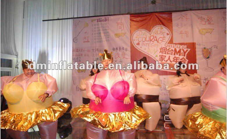 High Quality Inflatable Fat Costume,Inflatable Fat Sumo Suit