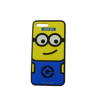 Custom sublimation cartoon 3D printing silicone mobile advertising phone case