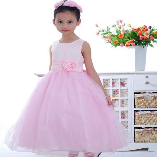 Compras en línea al por menor un piezas Western vestidos de niña ...