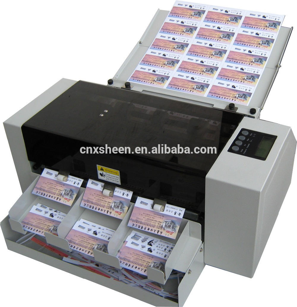 Business Card Die Cutting Machine Photo Cutter Machine Id Card