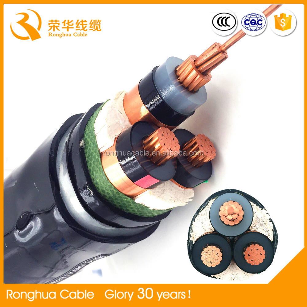 XLPE Insulation Material and PVC Jacket China good supplier electric Copper cable