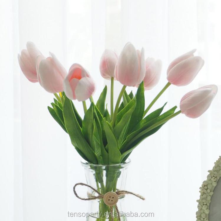 Real touch mooie woondecoratie kunstmatige tulp
