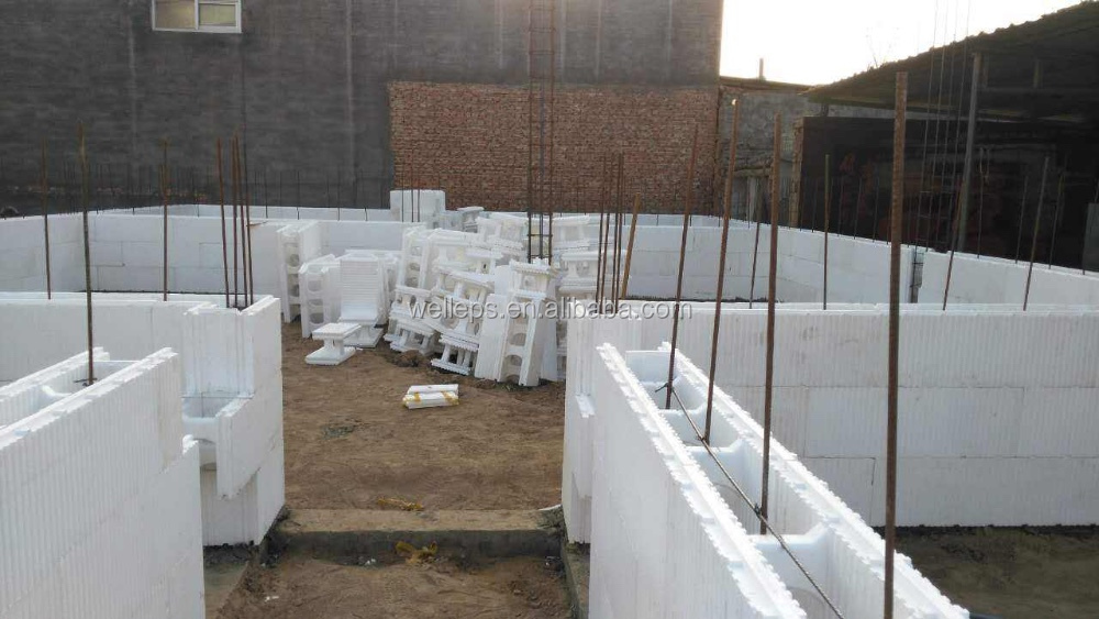 New Buiding Material Eps Foam Construction Blocks Icf