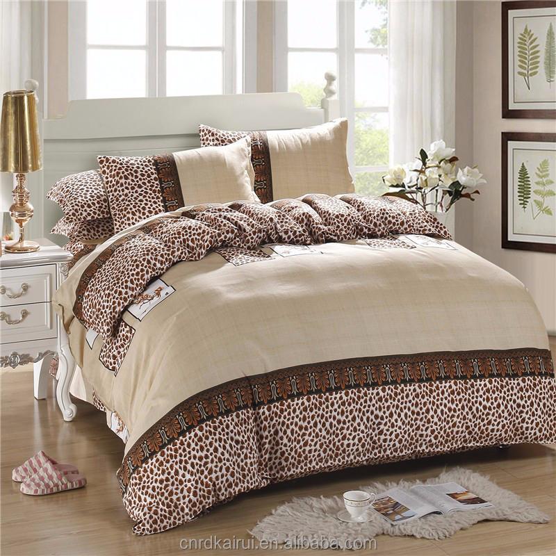 ensembles de literie de luxe turque ensemble de literie t style rayures literie drap de lit de