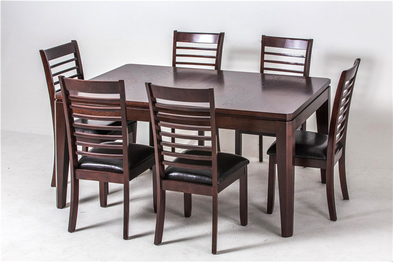 Modern Fancy Fiber Dining Table Set