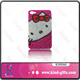 Pop hello kitty style bling bling colorful crystal luxury funky mobile tpu mobile phone case