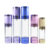 luxury 15ml 30ml 50ml 100ml sliver plastic acrylic empty lotion airless bottle with lotion pump