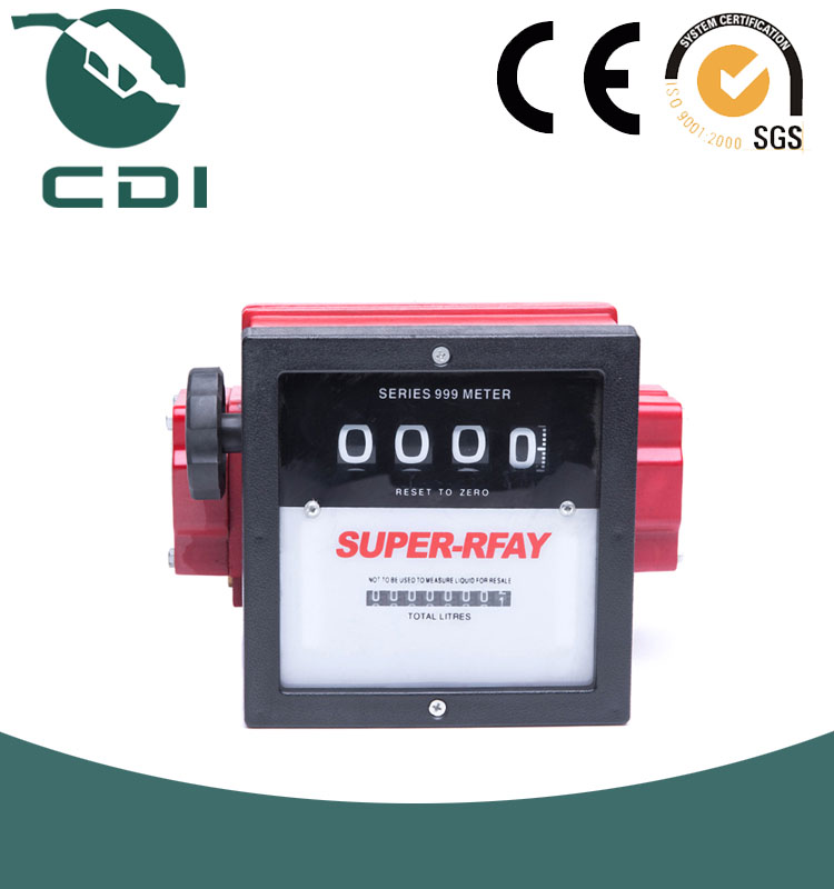 1' 1.5 ' 2' Aluminum Fuel Flow Mechanical Meter Counter