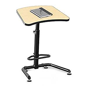 Mooreco Inc. Up-rite Student Height Adjustable Sit/stand Desk 26in - 43inh X 26.6inw X 20ind