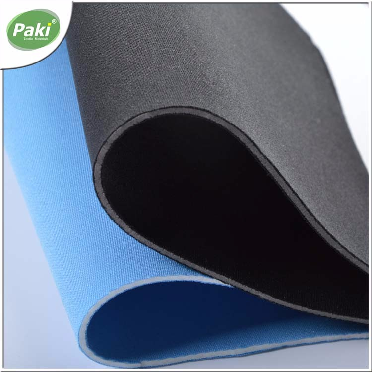 2mm EVA neoprene fabric with polyester jersey fabric