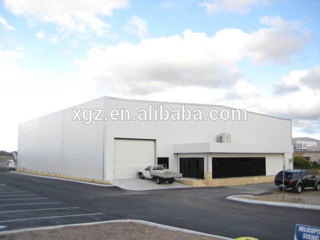 modern design aircraft hangar warehouse building