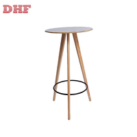High quality home furniture modern white wooden bar stool chairs