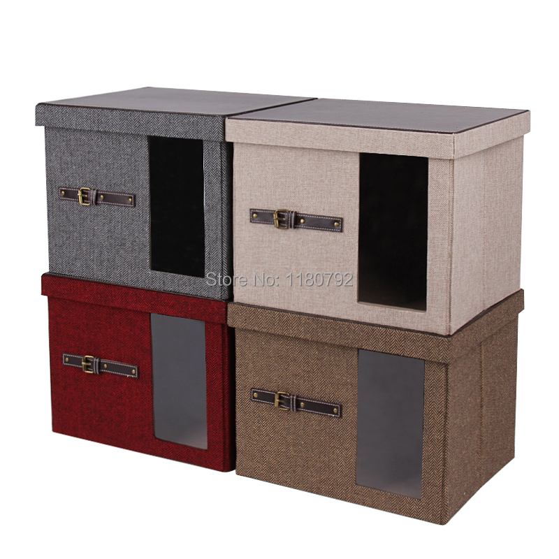 Bon Buy [ROWLING] 4 Colors Collapsible Foldable Storage Bins Box Canvas Cube  Container Cloth Shoe Toy Home Storage Organizer Box WG065 In Cheap Price On  ...