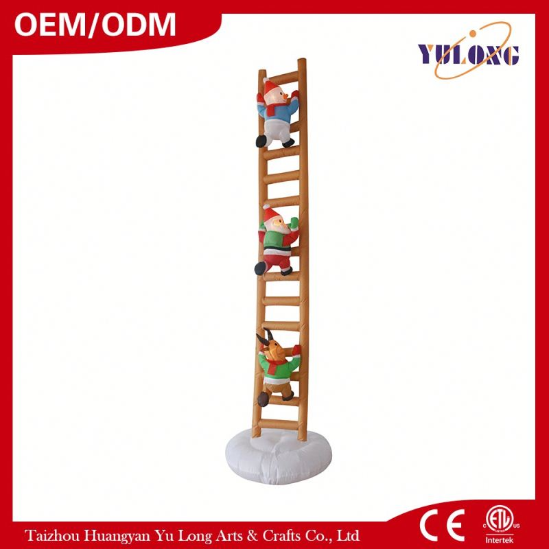 Snowman brothers climb stairs Lovely snowman snow yard decoration plastic cup machine price