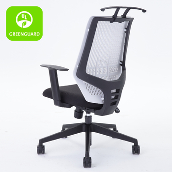 Ergonomic Executive Conference Chair With Coat Hanger