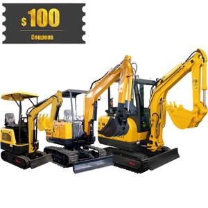 China cheap prices 0.6-3.5 ton micro mini crawler excavator mini digger machine for sale in bc