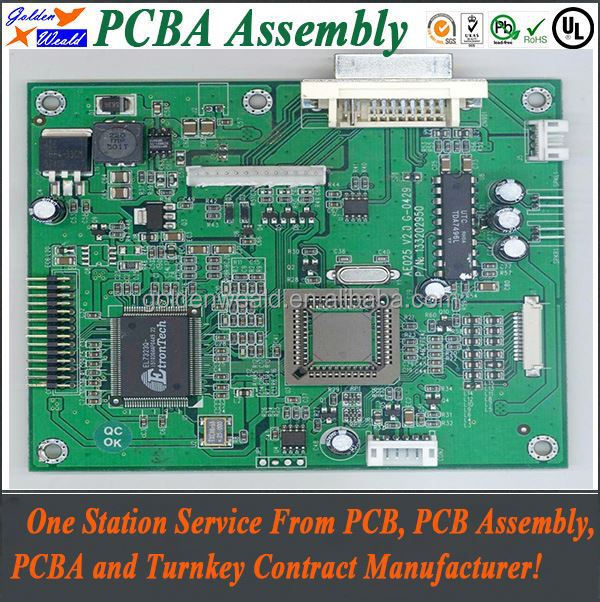 power supply control circuit board with electronics manufacturing service shenzhen pcb assembly companies
