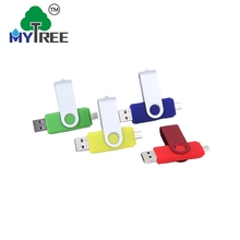 Mytree Free Sample OTG Swivel Plastic Usb Flash Drive 1GB-64GB By Free Shipping