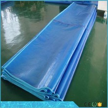 Used pool accessories standard type 400/500/600 micron durable PE bubble cover swimming pool cover