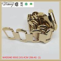 WAI5040 New design gold metal belt Women's waist chain
