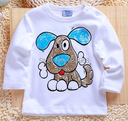 Весна одежда для младенцев мальчики девочки hello kitty 24 m длинный рукав футболки хлопок топы для осень малыша одежда