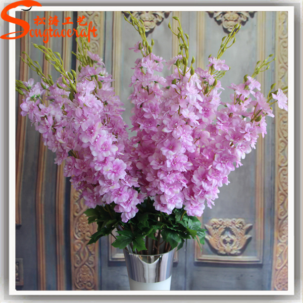 Silk Vision Flowers Whole Artificial Wisteria Flower Factory