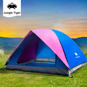 2018 Hot selling Top Sale Cheap custom 3 person outdoor automatic tourist camping tent Made in China For camping