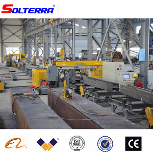 CNC H Beam Sawing Drilling Machine for Steel Construction