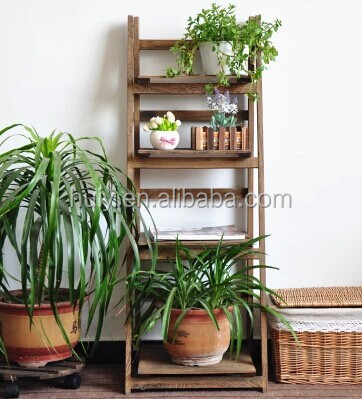 Outdoor Wood Plant Stands,garden Plants Shelves