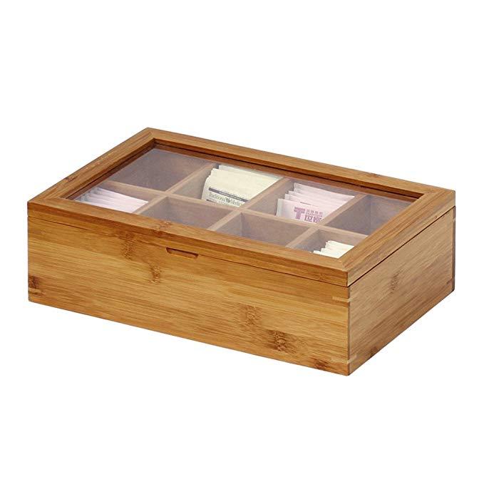 Custom cheap bamboo wooden tea box 7
