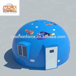 Sandwich Panel Material and Hotel Use prefab dome house