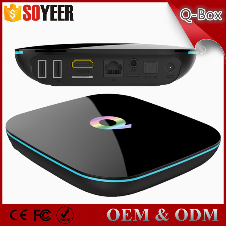 Soyeer S905 Android Tv Box Ram 2Gb Rom 16Gb Android L 5.1 Lollipop Smart Tv Box Qbox Decoder