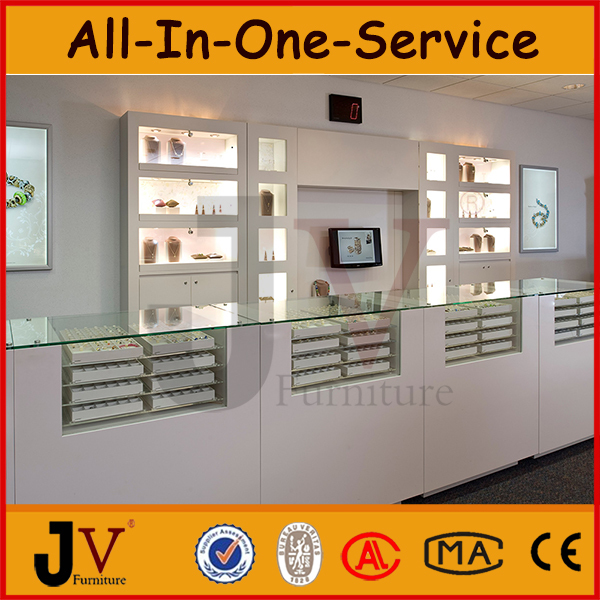 Jewelry Display Table For Indian Jewellery Showroom Designs